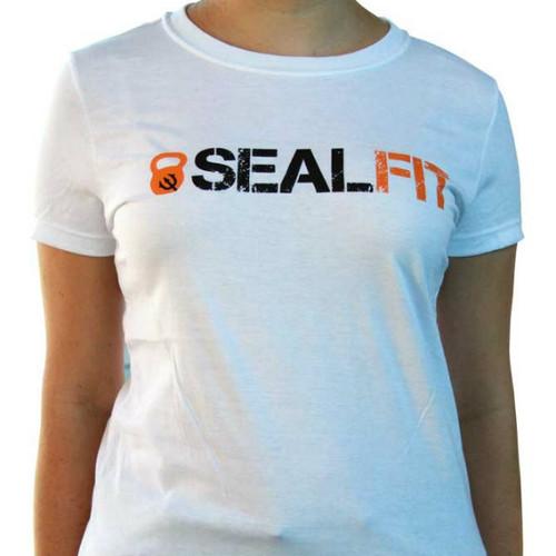 SEALFIT Logo Women's White Shirt