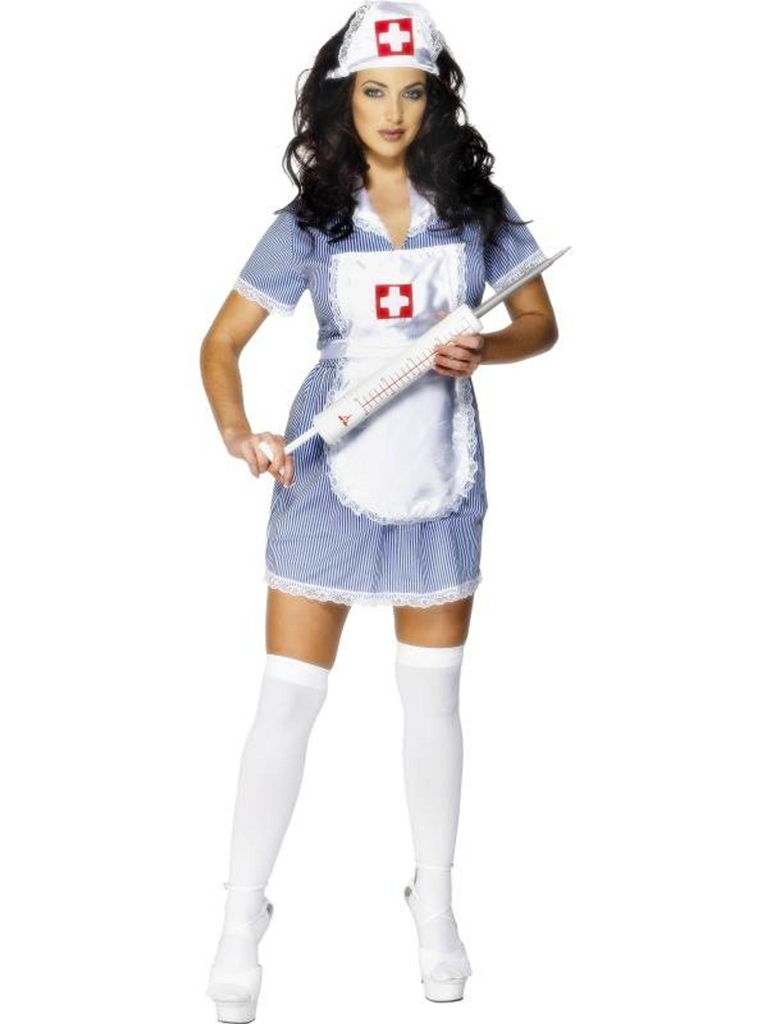 Nurse Naughty Costume, UK 12,14