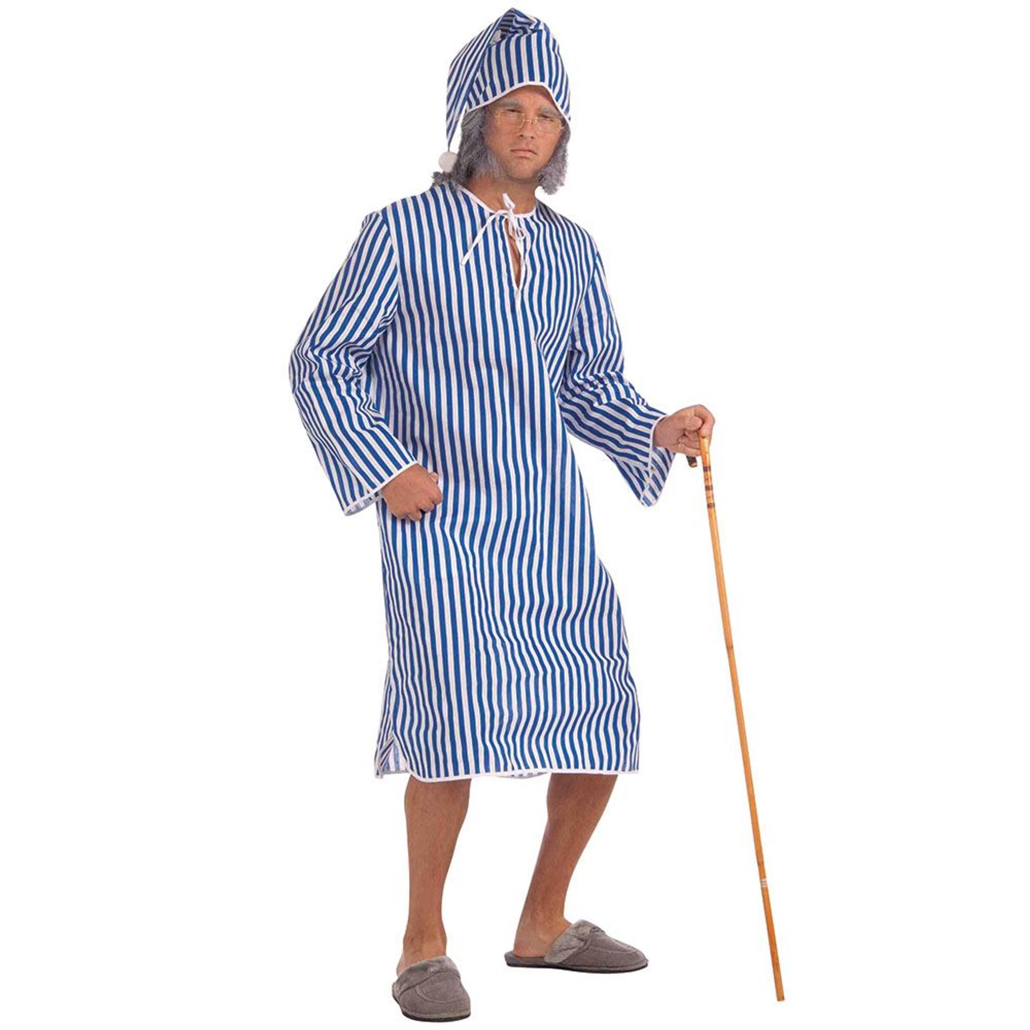 Christmas Fancy Dress.Scrooge Nightshirt Cap Christmas Fancy Dress Costume Chest Size 42
