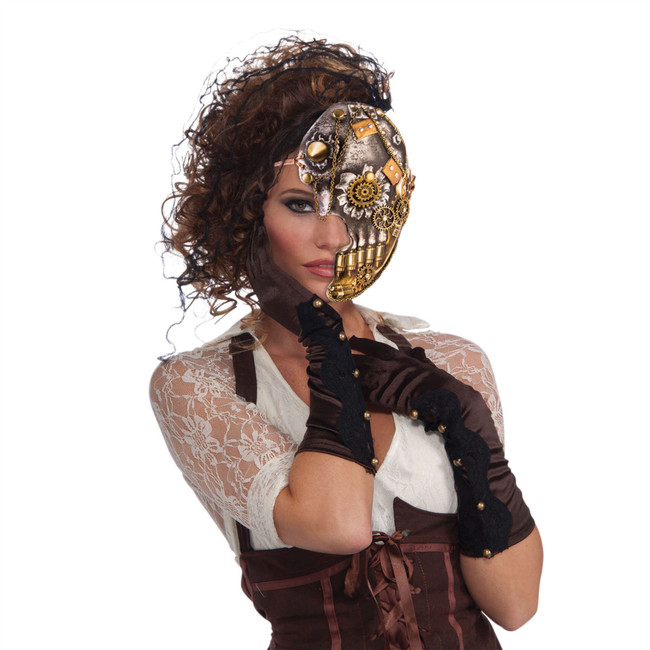 Steampunk Half Mask
