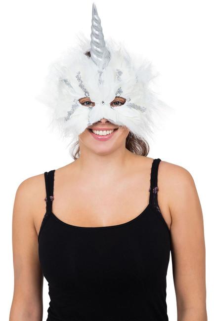 Unicorn Mask (On Elastic)