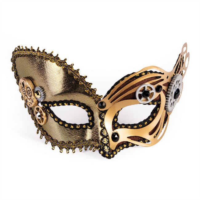 Steampunk Metallic Mask (Glasses Frame)