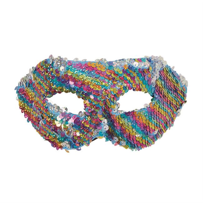 Multi Col. Reversible Sequin Eyemask