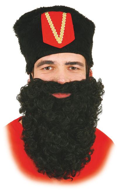 Beard Black Nylon 28cm