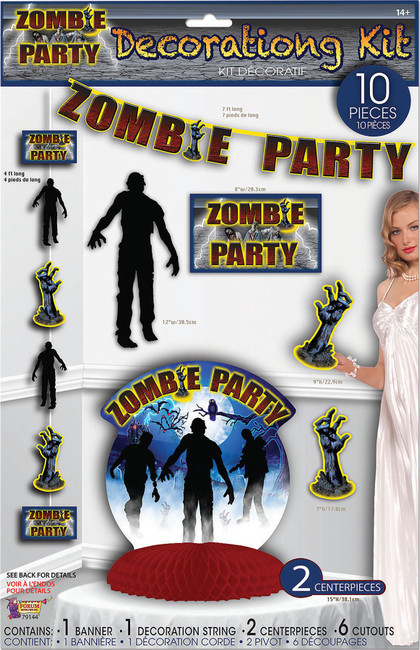 Zombie Party Decor Set 10pc