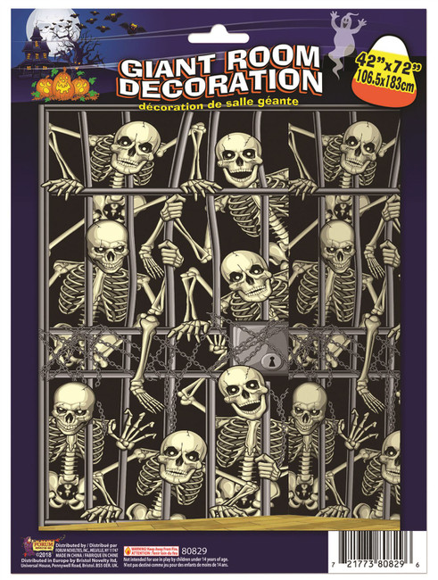 Skeleton Invasion Back Drop (105x180)