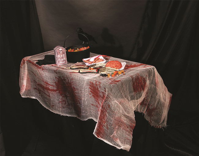 Bloody Gauze Table Cover 137x274cm