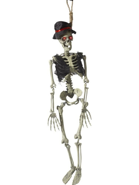 Animated Hanging Groom Skeleton Decoration,Halloween Fancy Dress Accessories