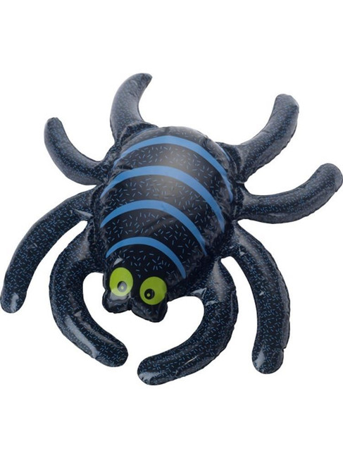 Black Inflatable Spider, Halloween Fancy Dress Accessories