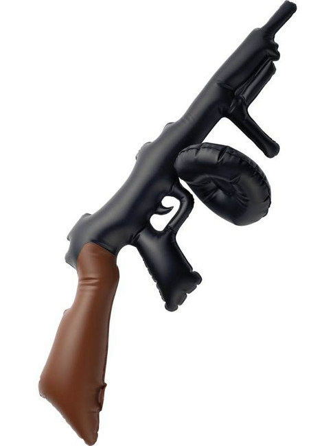 Inflatable Tommy Gun.