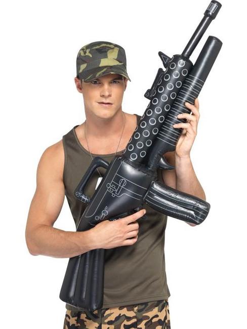Inflatable Machine Gun, Blow up Gun