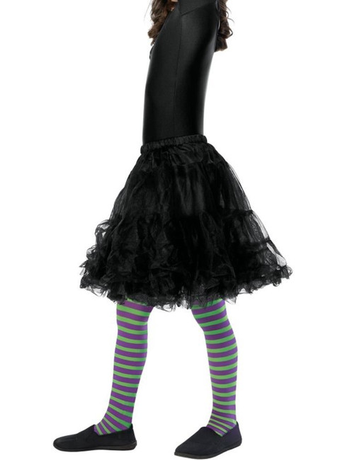 Wicked Witch Tights,Child, Tights and Petticoats,Medium/Large Age 8-12