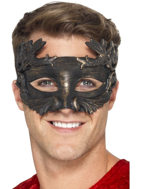 Warrior God Metallic Masquerade Eyemask, Eyemasks, Fancy Dress