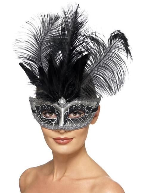 Venetian Colombina Eyemask, Eyemasks, Fancy Dress