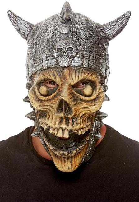 Viking Skeleton Latex Mask, Fancy Dress/Halloween Mask