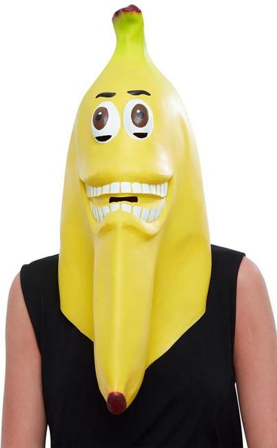Banana Latex Mask, Fancy Dress/Halloween Mask