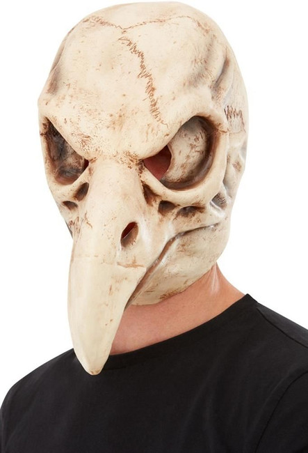 Bird Skull Latex Mask, Fancy Dress/Halloween Mask