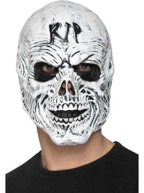 R.I.P Grim Reaper Mask, Foam Latex, Halloween Fancy Dress Accessories