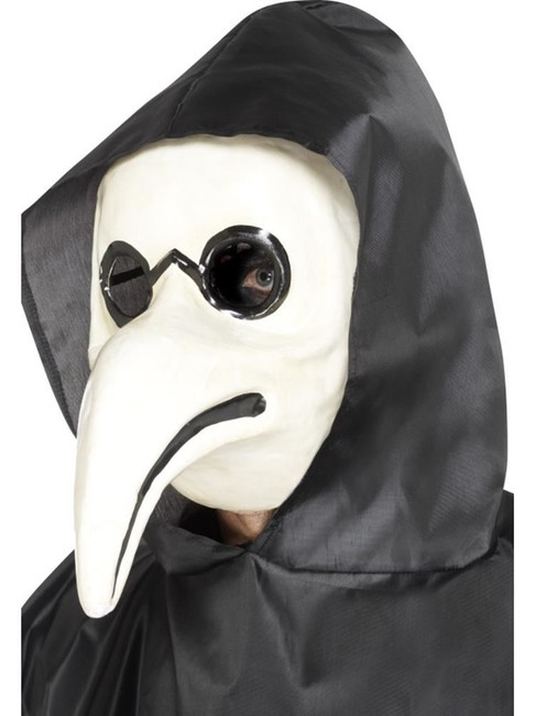 Authentic Plague Doctor Mask, Halloween Carnival of the Damned Fancy Dress