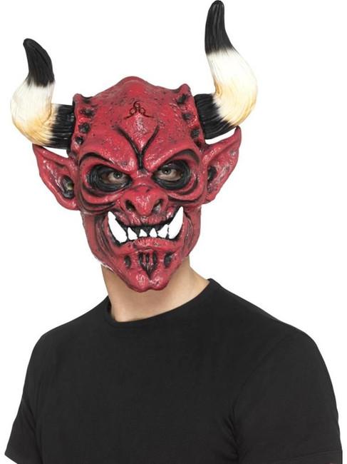 Multi Devil Mask, Foam Latex, Halloween Fancy Dress Accessories