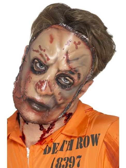 Zombie Flesh Mask, Halloween Fancy Dress, FLESH