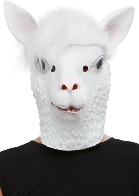 Llama Latex Mask, Fancy Dress/Halloween Mask