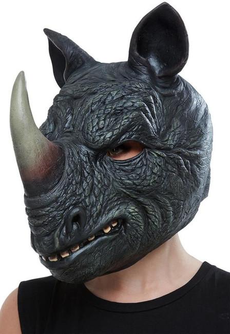 Rhino Latex Mask, Fancy Dress/Halloween Mask