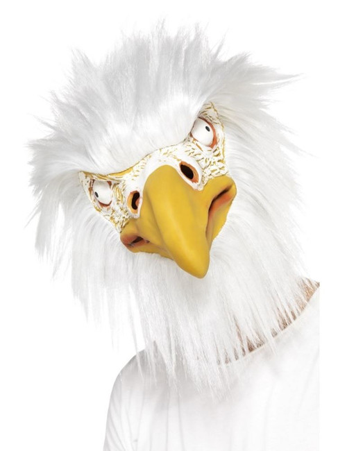 Eagle Mask, Full Overhead, One Size, Party Animals Fancy Dress