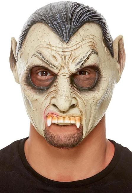 Vampire Chinless Latex Mask, Fancy Dress/Halloween Mask