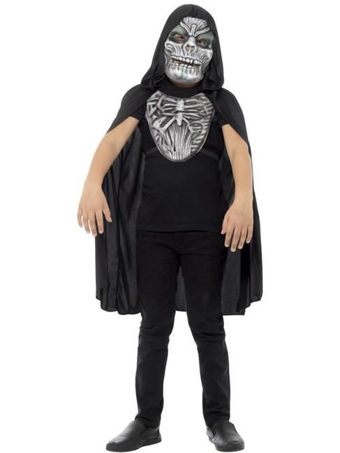 Grim Reaper Kit, Child, Halloween Children's Fancy Dress. One Size