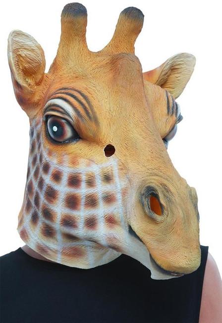 Giraffe Latex Mask, Fancy Dress/Halloween Mask