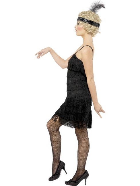 Fringe Flapper Costume, UK Dress 12-14