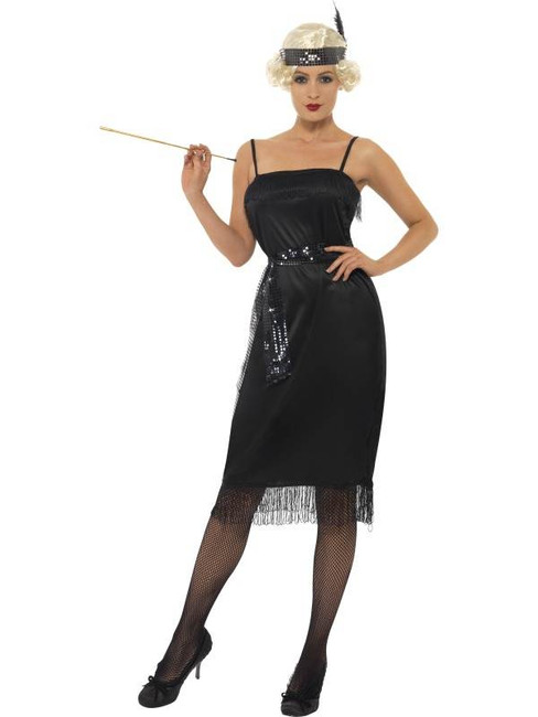 Flapper Costume, UK Dress 8-10