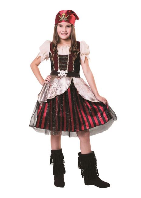 Pirate Girl (Dress/Bandana), Large