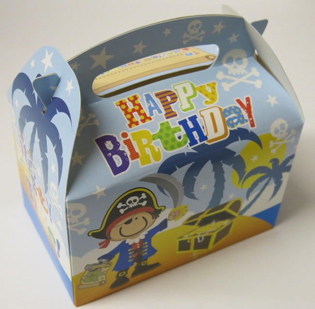 Party Loot Box x 6  Pirate Theme