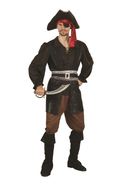 Pirate Captain, Mens