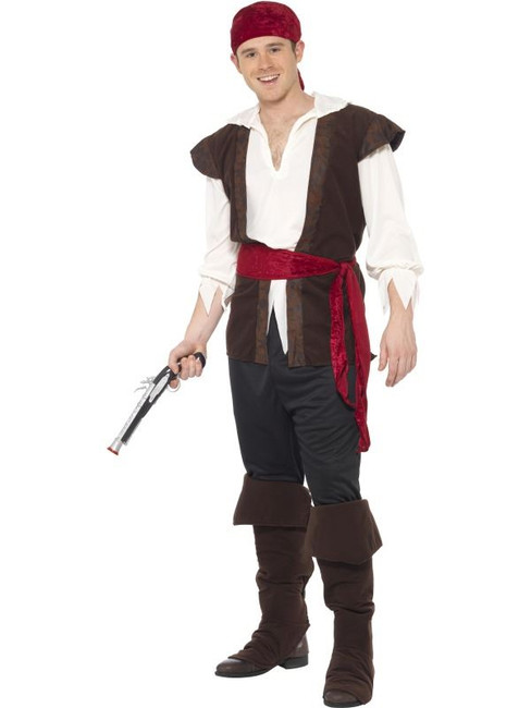 Pirate Costume, Mens