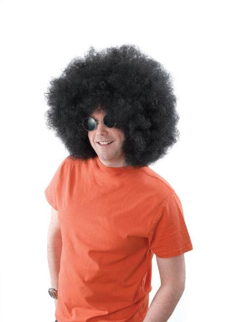 Afro Wig. Mega Black.
