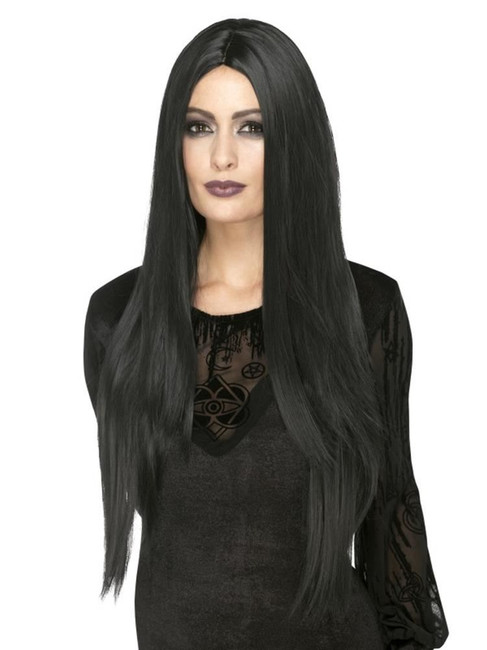 Deluxe Witch Wig,Heat Resistant/Styleable,Halloween Fancy Dress Accessories