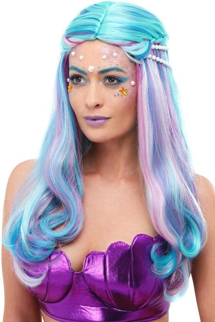Mermaid Wig, Fancy Dress Party Wig