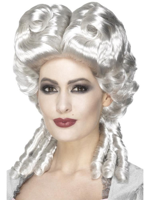 Marie Antoinette Wig, Halloween Carnival of the Damned Fancy Dress