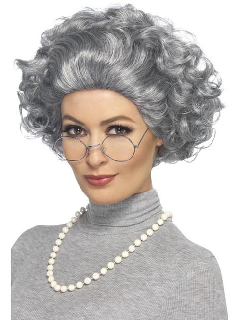 Grey Granny Kit, Funnyside Fancy Dress. One Size