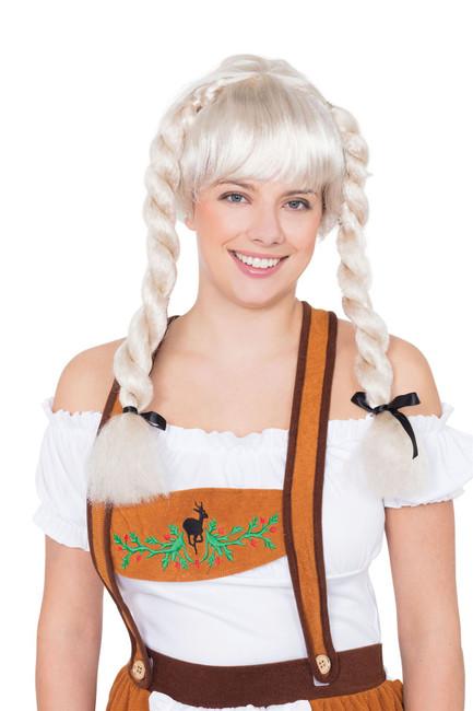Fraulein Pigtail Wig Blonde