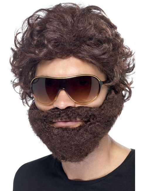 Stag Do Kit, Brown With Wig, Beard and Sunglasses