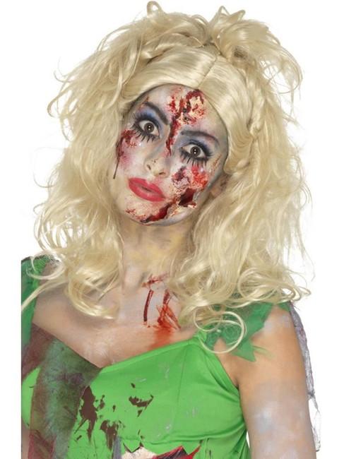 Blonde Zombie Fairy Wig, Halloween Zombie Alley Fancy Dress