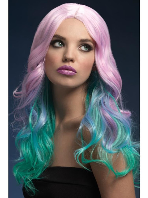 Rainbow Fever Khloe Wig, Fever Wigs. One Size