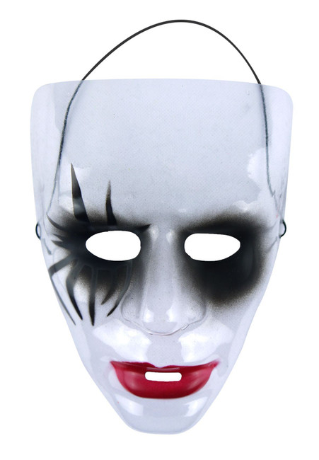 Transparent Halloween Mask - Day of the Dead/The Purge, Mask A, Fancy Dress