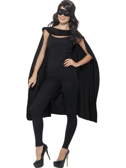 Cape, Halloween Fancy Dress, BLACK