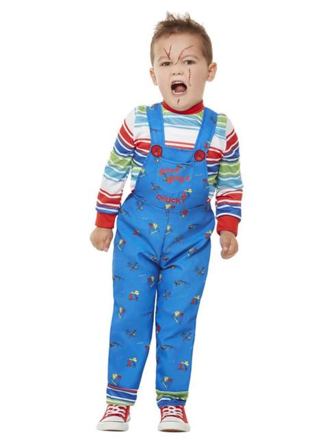 Chucky, Toddler, Halloween Fancy Dress Costume, Age 3-4