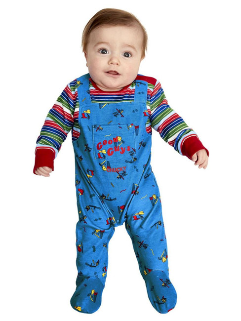 Chucky, Baby, Halloween Fancy Dress Costume  3-6 months